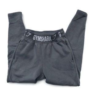 Gymshark Gray Jogger Sweats W Zipper Pockets XS